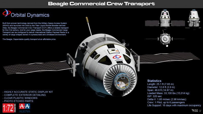 Beagle Commercial Crew Transport